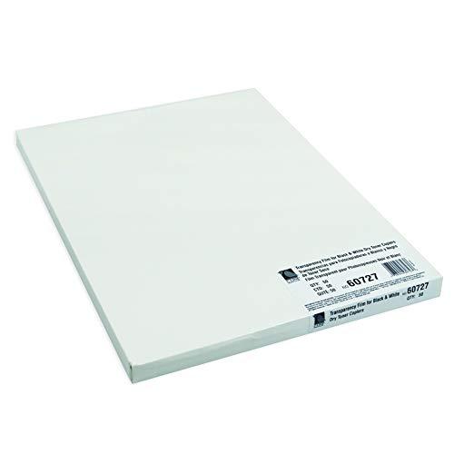 C-Line Products, Inc. CLI60727BN Plain Paper Copier Transparency Film, Clear, 8 1/2 x 11, 50 Per Box, 2 ()
