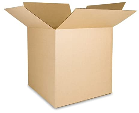 EcoBox 24 X 24 X 24 Inches 200 Lb. Corrugated Box (E 166