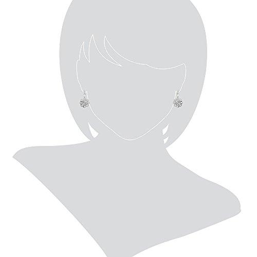 Gioiello Italiano Boucles d'oreillesFleurs en or blanc 14 carats