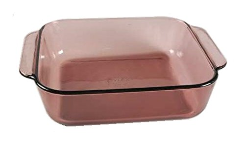 Cranberry Circa (Corning Ware / Pyrex Originals Cranberry Square Baker ( 8