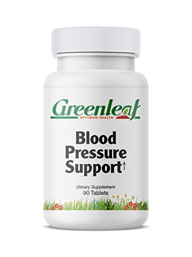 Greenleaf Optimum Health Blood Pressure Support, European Hawthorn Berry Extract and Coleus Forskohlii Extract 90 -