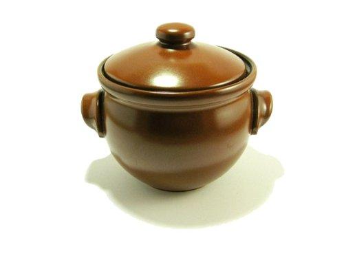 cazuela de cerámica con pequeñas asas 1 litro: Amazon.es: Hogar
