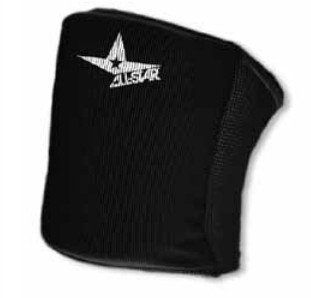 All Sports Durable Adult Knee Pads (Basketball, Volleyball, etc). 4 Sizes/5 Colors (Black, Adult XS)