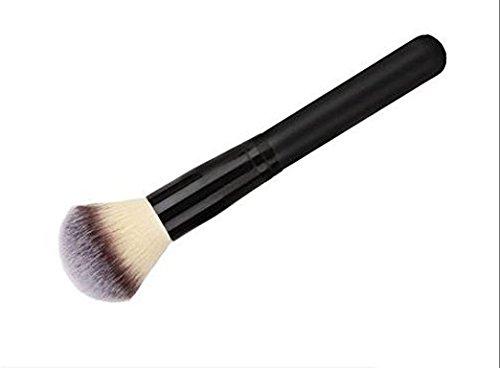 Q Power Powder Makeup Brush For Powder Foundation Blending Buffing (Foundation Copper Powder)