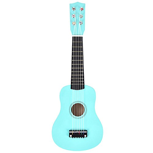 Globe House Products GHP 21″ Mint Green Kids Beginners Acoustic Guitar with Nylon Strings & Pick