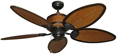 Cane Isle Tropical Ceiling Fan