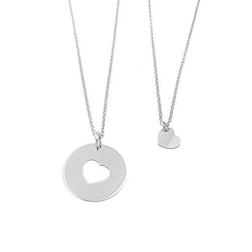qualità stabile vasta selezione ufficiale Set collana Madre & Figlia in argento 925 anallergico e pacchetto ...