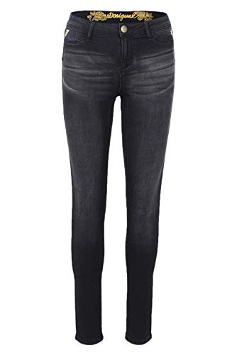 Desigual Jeans 18wwdd44 kentya Noir