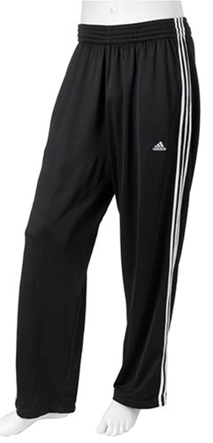 adidas Men's Double Up Mini-Mesh Pant, Black/White, X-Large (Pant Mini Mesh)