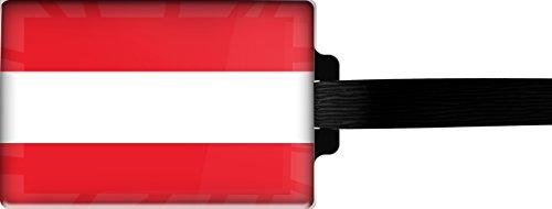 metALUm Luggage tag / Model Marco Polo / Flag Austria / 3001019