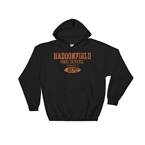 Cracked Shirts Michael Myers Sweatshirt Hoodie, Haddonfield High School, Horror Movie, Halloween, -