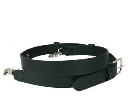 6545-1 - Boston Leather Firefighters Radio Strap, WIDE
