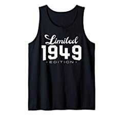 Perfect Gift Idea for Men / Women on Bday / Anniversary or Birthday with funny saying - Bday Limited Edition 1949 70th Birthday Gifts 70 Year Old T-Shirt