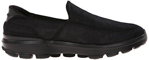 Performance Skechers Walking Shoe 3 Go Men's Walk Black Leathertex Suitable FqUqPd4