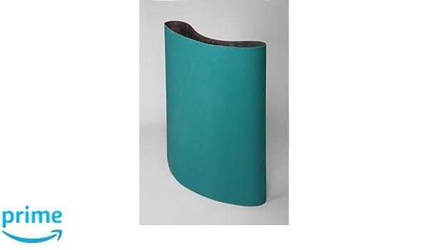 3M Cloth Belt 577F Wet//Dry Pack of 5 180 Grit 37 Width x 60 Length Zirconia Alumina