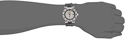 Charriol Men's RT42GMTW1426021 Rotonde Analog Display Swiss Quartz Black Watch