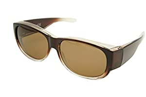 #1 Sale Fitover Lens Covers Sunglasses Wear Over Prescription Glass Polarized St7659pl