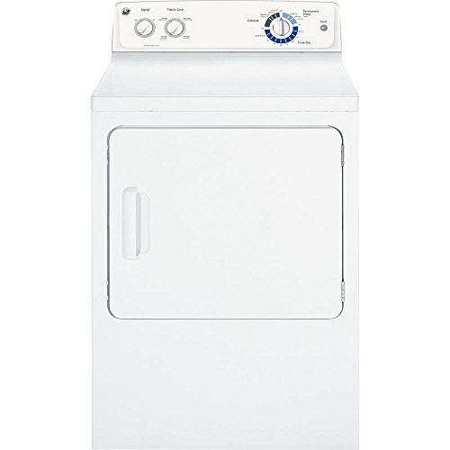 GE GTDP220EFWW White Electric Dryer