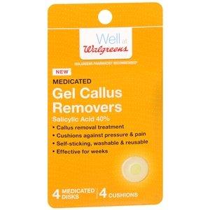 Walgreens Medicated Gel Callus Removers 4 ea(Pack of 4) by Walgreens