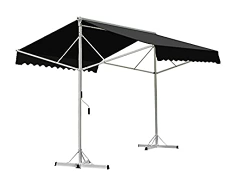 Awntech 8 Feet Richmond Free Standing Double Sided Manual Retractable Awning,  8 By 13