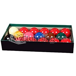 Snookerkugeln, 5cm, 17 Stück