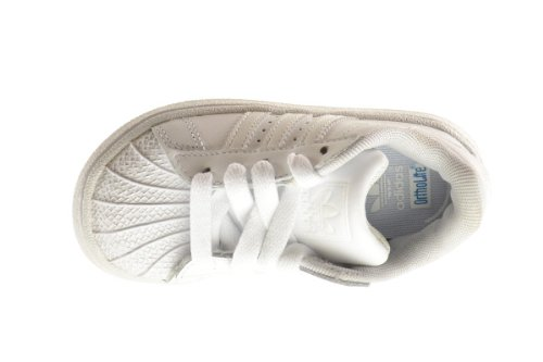5.5 M US Adidas Superstar II 2 Infant Shoes Run White//Run White 901038