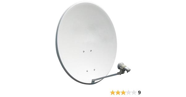 Media Price - Kit de parabólica satélite de 60 cm + LNB ...