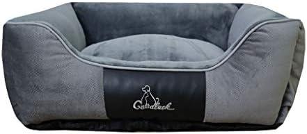 犬猫ソファベッド、 猫と犬のベッドクッション猫と小型中型大型犬用のソファスタイル/耐久性/取り外し可能なウォッシャブル/複数のサイズ/色/ (Color : Gray, Size : XL)