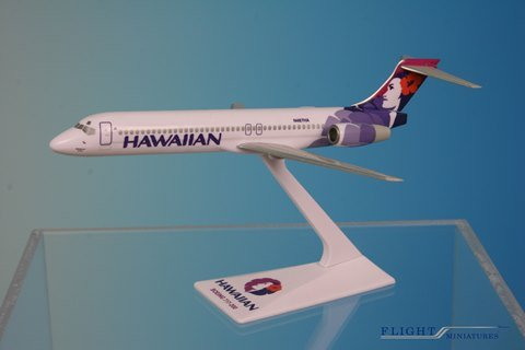 Flight Miniatures Hawaiian Airlines Boeing 717-200 Reg#N487HA 1:200 Scale Display Model