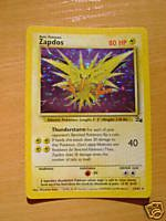 Pokemon Zapdos 15/62 Holo Card [Toy], used for sale  Delivered anywhere in USA