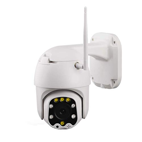 Security Camera 1080p PTZ IP Dome Camera for Onvif 5X Optical Zoom Wireless IP Surveillance System with Motion Detection, 2-Ways Audio, Night Vision, AP Hotspot Distribution and A-B Two-point Cruise