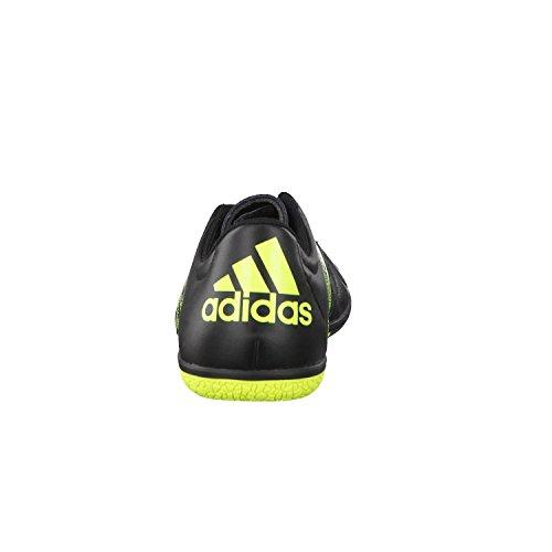 Intérieur cuir x 15.3 adidas chaussures de football pour homme - - schwarz / neongelb, 9.5 UK - 44 EU