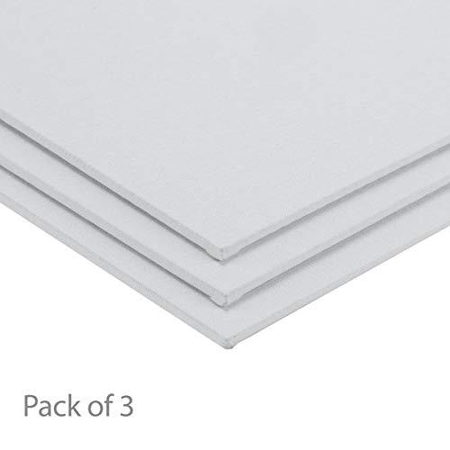 Centurion All-Media Primed Linen Panels 3-Pack 11x14