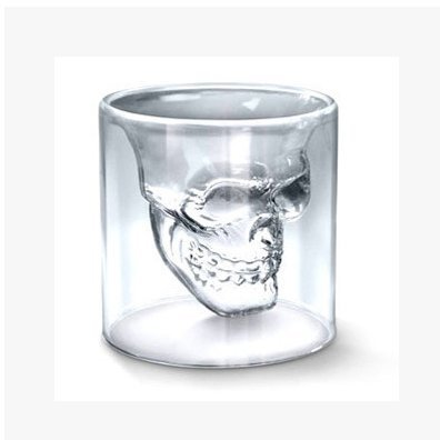Crystal Skull Shot Glass/crystal Skull Head Vodka Shot Wine Glass Novelty Cup
