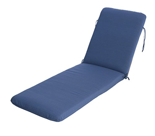 Phat Tommy Sunbrella Outdoor Chaise Lounge Cushion –  Patio Furniture Replacement Cover-Clearance, Galaxy (Chaise Lounge Replacement Cushions)