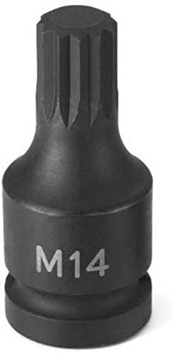 SODIAL M14 Triple Square XZN Socket for Mk5 Mk6 2015-2018 and Mk7 2010-2014 2006-2009