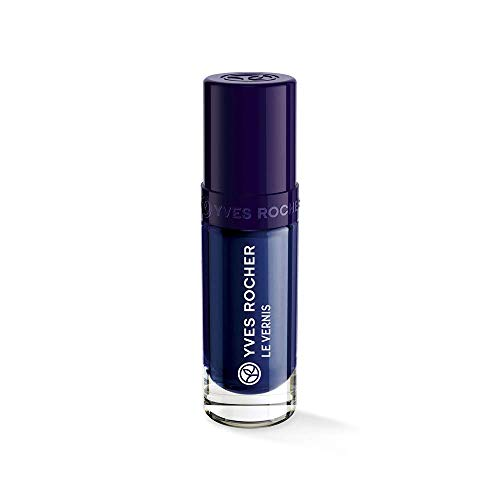 Yves Rocher Couleurs Nature Botanical Colour Nail Polish - Glossy, 5 ml./0.16 fl.oz. (31-Violet Blue-35263) (Yves Rocher Nail Lacquer)
