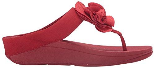 Fitflop Femmes Florrie Toe-string Sandale Classique Rouge