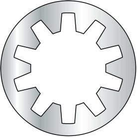 M4 Metric Internal Tooth Lock Washer - Zinc - DIN 6797 J - Pkg of 10000 (M4D6797J)