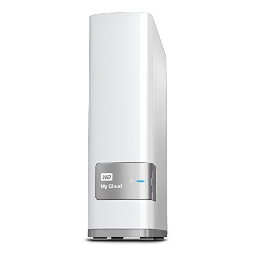 WD 4TB My Cloud Personal Network Attached Storage - NAS - WDBCTL0040HWT-NESN by Western Digital