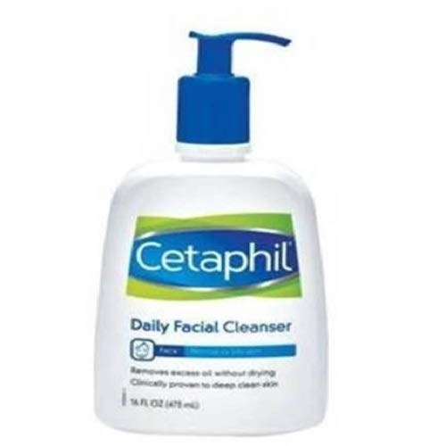 Cetaphil Facial Cleanser, Daily Face Wash for Normal to Oily Skin, 16oz