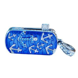 PENDRIVE USB MEMORIA FLASH DRIVE 8GB LLAVERO METALICO ANCLA ...