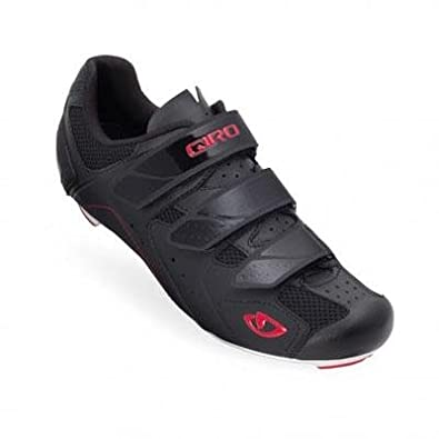 2012 Mens Treble Road Bike Shoes (Black/White/Red - 41)