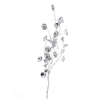 Factory Direct Craft Group of 4 Petite Gem Bead Sprays for Floral Arranging, Decorating and Embellishing