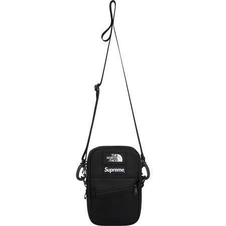 Supreme The North Face Leather Shoulder Bag   Black   18FW ( シュプリーム ノースフェイス レザー ショルダーバッグ   レッド   18FW)[国内正規品] (Black) B07JN25N6Q