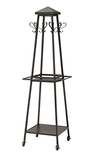 Craft and Main Madison Coat Rack, Powder-Coated Iron with Hand-Painted - Powder Iron Coat