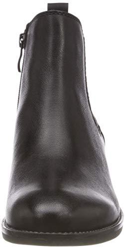 21 9 Donne Neri 022 9 25312 Chelsea nappa Boots 22 Caprice Delle Nera qRwFX