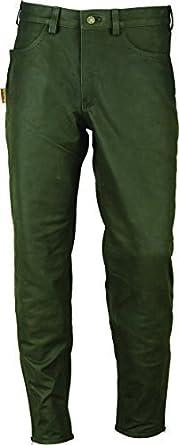 Aus Skipper Lederhose Buff Stiefel Echtesleder Lang In Grün SUzVqMpG