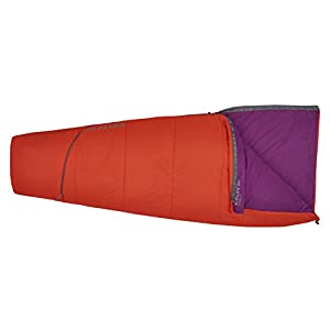 Kelty Rambler 50 Degree Sleeping Bag, Fire Orange