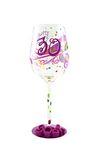 30-ish Birthday Wine Glass - Unique Gift Ideas for Wine -